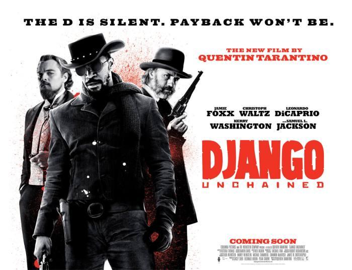 "Affiche du film ""Django Unchained"", de Quentin Tarantino. © The Weinstein Company"