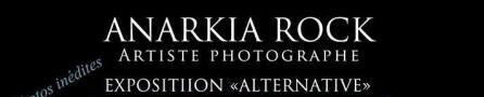 Affiche de l'exposition d'Anarkia Rock.