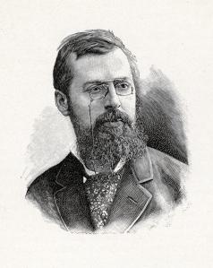 Portrait d'Albert Robida en 1894.