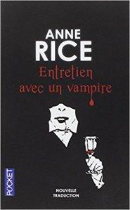 """couverture du livre """"Entretien avec un vampire"""", Anne Rice © D.R."""