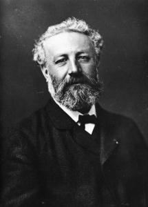 Portrait de Jules Verne par Félix Nadar.