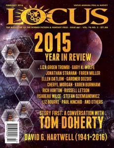 """Couverture du numéro 76 de """"Locus"""" (fév.2016)"""