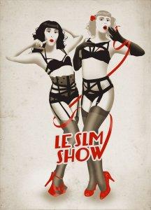 Illustration pour la Pretty Propaganda de Sarah-Lou Marty. © Le SLM Show