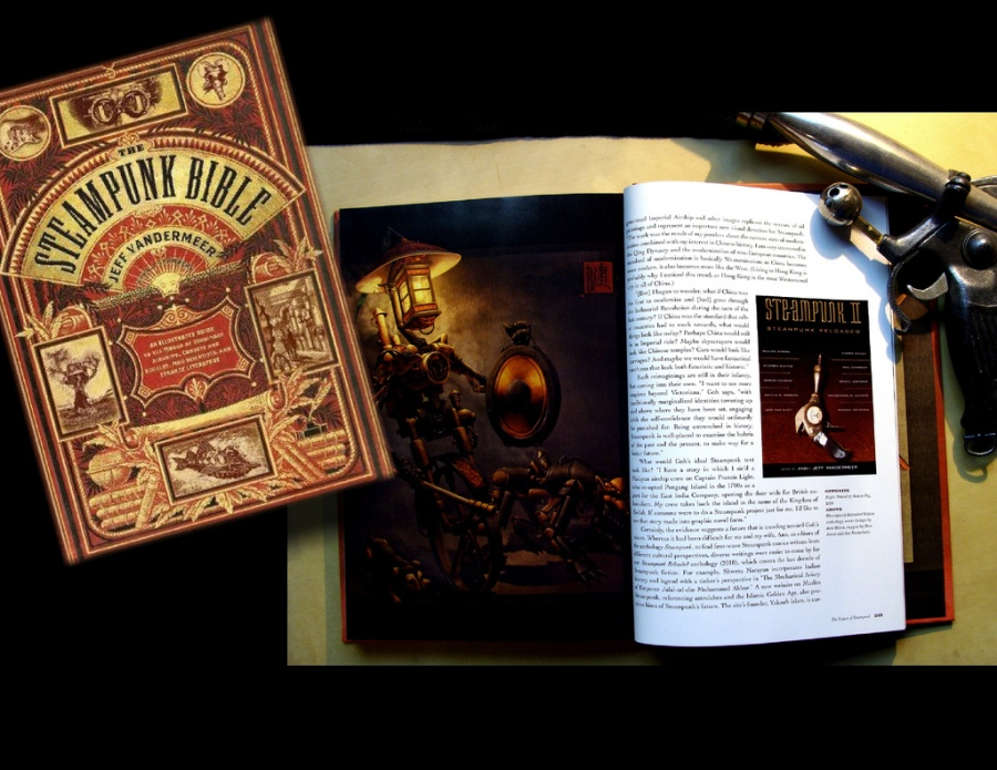 """The Steampunk Bible"" par J.Vandermeer et S.G. Chambers"