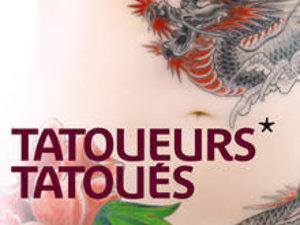 Affiche de l'exposition Tatoueurs, Tatoués, au Musée du Quai Branly