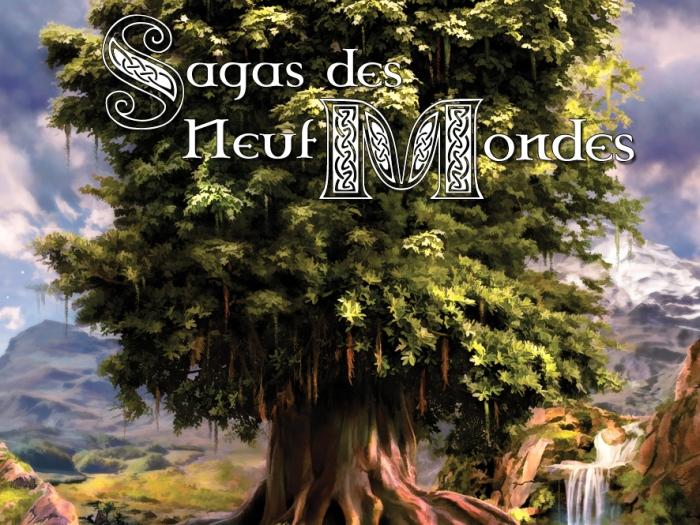 """""""Sagas des Neufs Mondes"""", Pierre Efratas"""