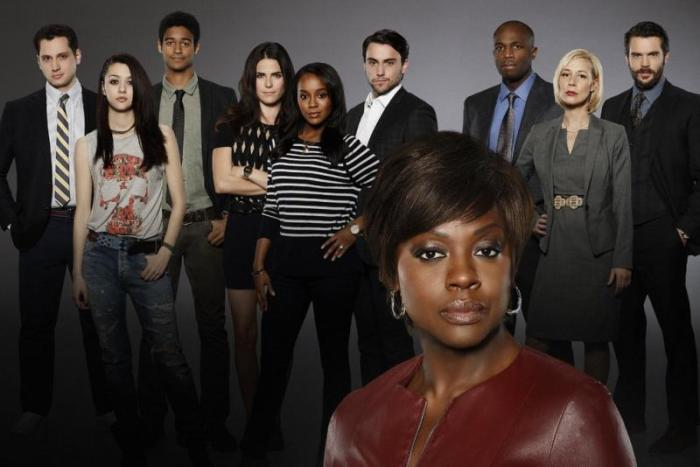 "Photo promotionnelle pour la série ""How to get away with murder"".© ABC/Craig Sjodin"