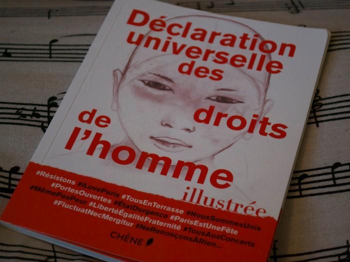 """""""Déclaration universelle des droits de l'homme illustrée"""", Chêne."""