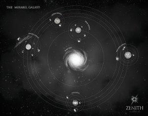 Carte de la galaxie Mirabel. © Zenith/JD Netto