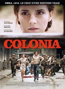 Affiche du film Colonia de Florian Gallenberger. © Majestic / Ricardo Vaz Palma