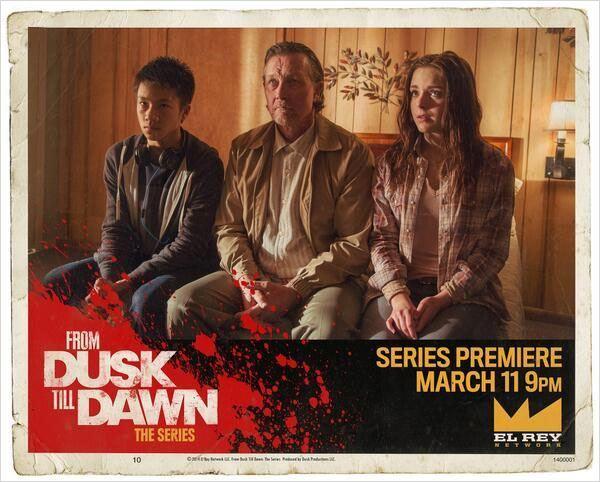 Affiche promotionnelle pour From Dusk Till Dawn © El Rey