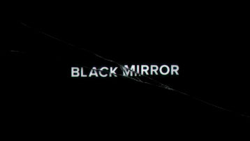 Ecran titre de la série Black Mirror. © Channel 4