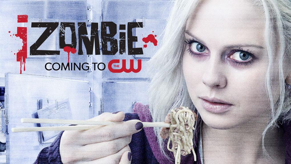 """Affiche promotionnelle pour la série """"IZombie"""".© The CW Television Network"""
