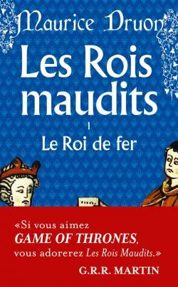 """Couverture du premier tome des """"Rois maudits"""" de Maurice Druon."""