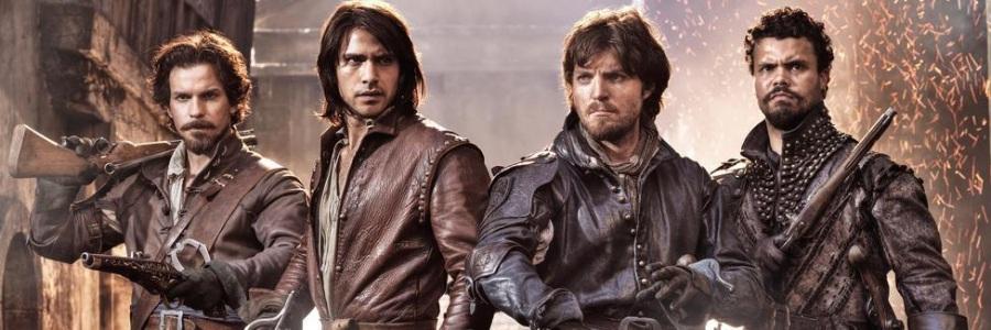 """Affiche pour la série """"The Musketeers"""" de la BBC. ©BBC"""