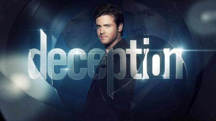 "Affiche promotionnelle pour la série ""Deception"".© ABC"