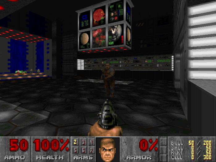 Capture d'écran Wolfenstein 3D (idSoftware). © idSoftware