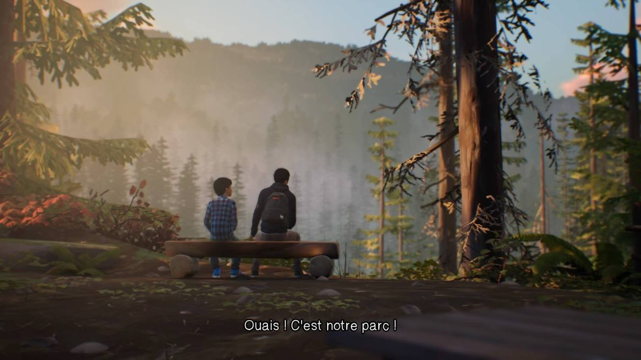 Capture d'écran de Life is Strange 2. Episode 1 : Roads.