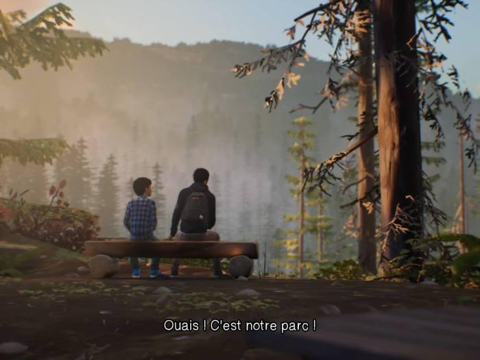 Capture d'écran de Life is Strange 2. Episode 1 : Roads.