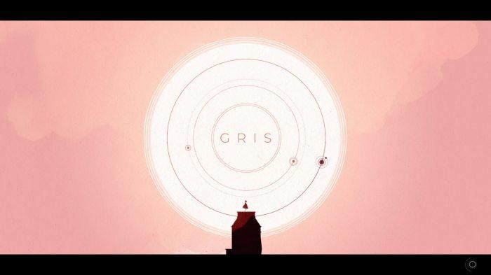 """Capture d'écran de """"Gris"""", un jeu réalisé par Nomada Studio."""
