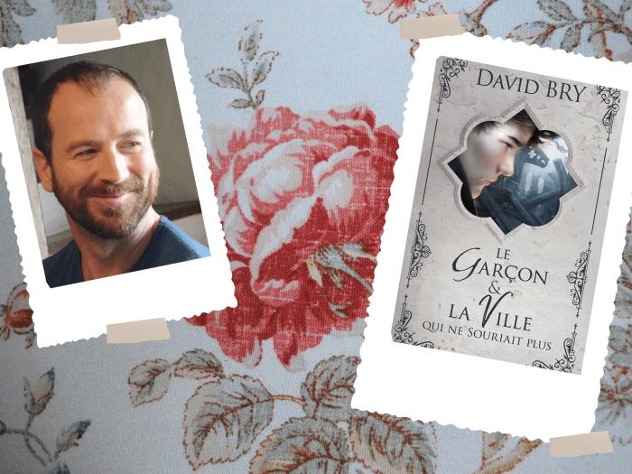 """""""Le garçon & la Ville qui ne souriait plus"""" est le dernier roman de David Bry, publié aux Editions Lynks à l'Automne 2018."""