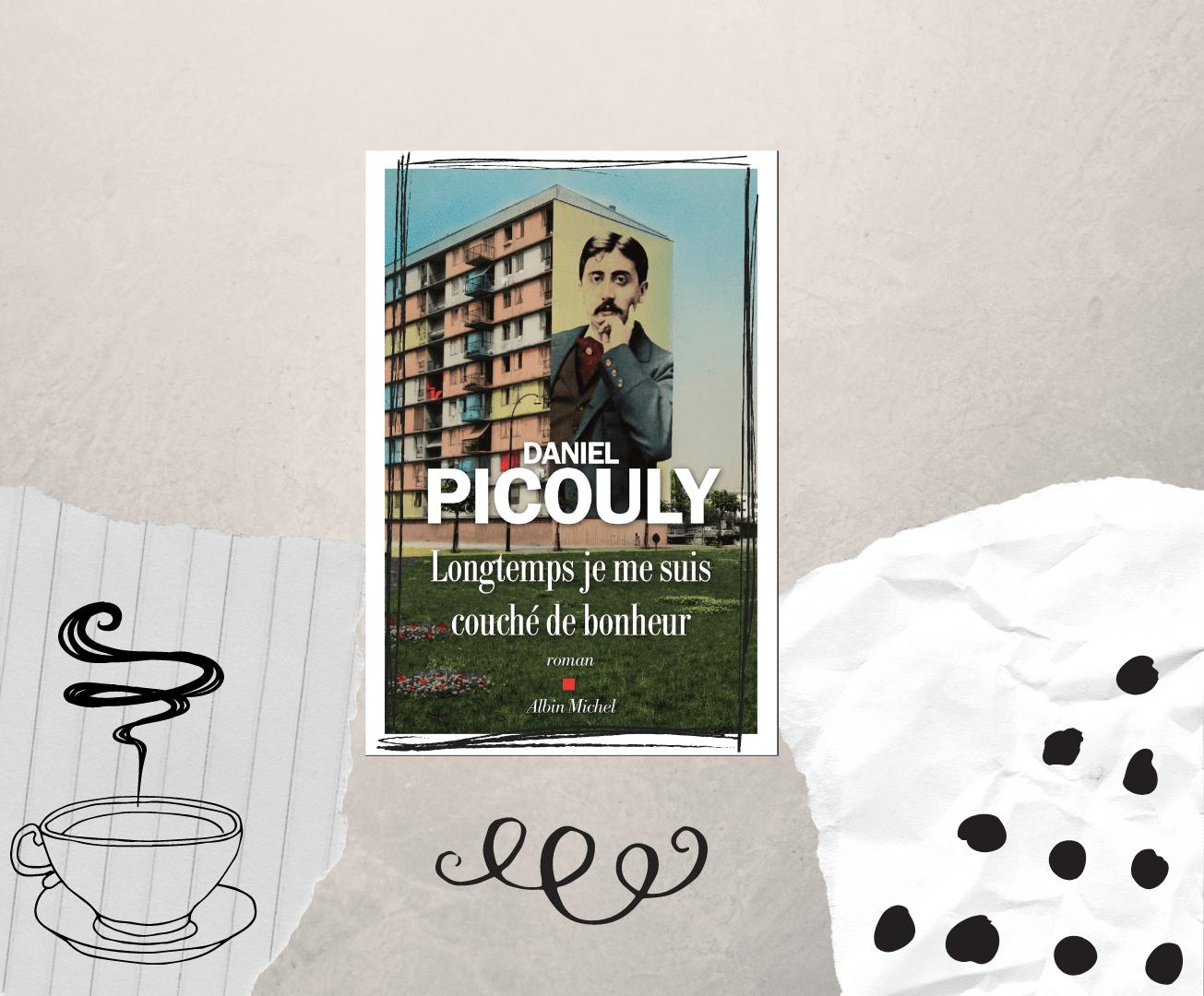 """""""Longtemps je me suis couché de bonheur"""" est un roman de Daniel Picouly, paru chez Albin Michel."""