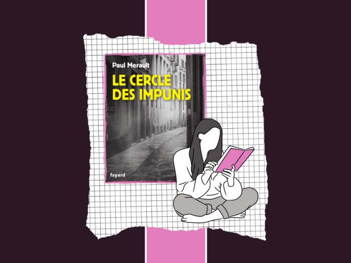"""""""Le Cercle des impunis"""" est un poler écrit par Paul Merault"""