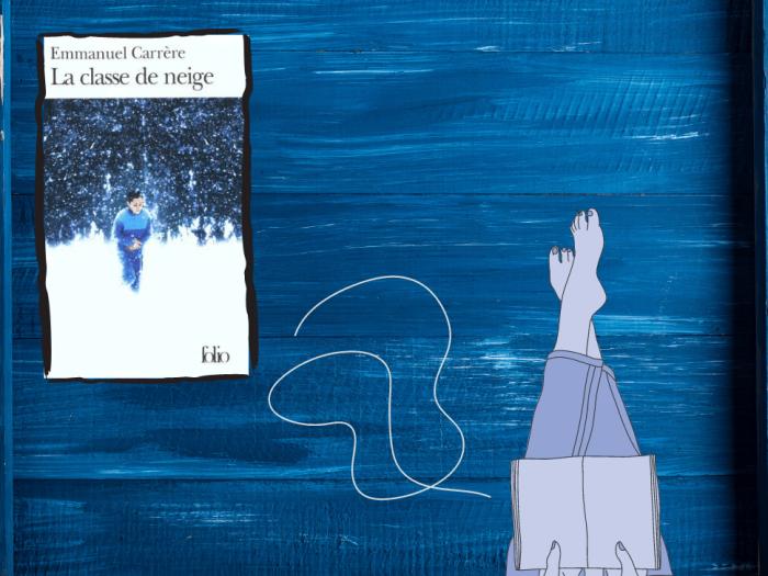 La Classe de neige est un roman d'Emmanuel Carrère